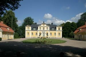 Gårdens huvudbyggnad